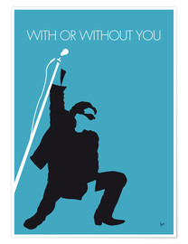 Premium poster  U2 - With or without you - chungkong