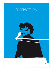 Premium poster Stevie Wonder, Superstition