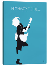 Canvas print  ACDC, Highway to hell - chungkong