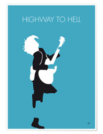 Premium poster ACDC, Highway to hell