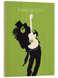 Wood print  Guns N' Roses, Paradise City - chungkong
