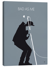 Canvas  No037 MY TOM WAITS Minimal Music poster - chungkong