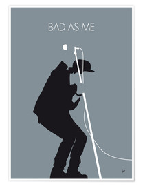 Poster  Tom Waits, Bad as me - chungkong