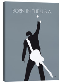 Canvas  Bruce Springsteen, born in the U.S.A. - chungkong