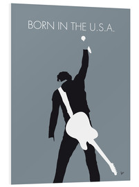 Foam board print  Bruce Springsteen, born in the U.S.A. - chungkong