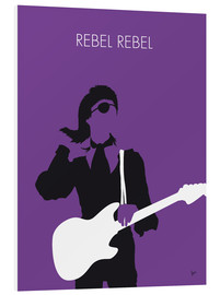 Forex  No031 MY BOWIE Minimal Music poster - chungkong