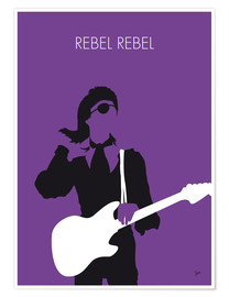Premium poster  No031 MY BOWIE Minimal Music poster - chungkong