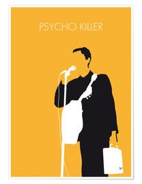 Premium poster  No064 MY TALKING HEADS Minimal Music poster - chungkong