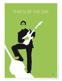 Premium poster Buddy Holly - That'll Be The Day