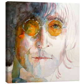 Canvas print  John Winston Lennon - Paul Lovering Arts