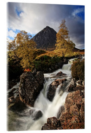 Acrylic print  Scotland in Autumn - Buchaille Etive Mor - Martina Cross