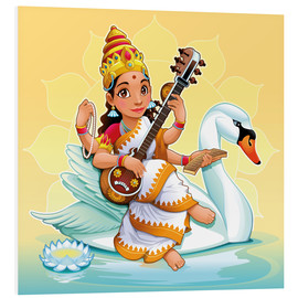 Forex  Saraswati with a swan - Kidz Collection