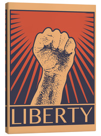 Canvas print  Liberty