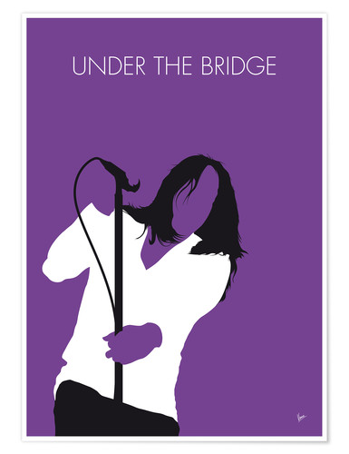 Premium poster Red Hot Chilli Peppers - Under The Bridge