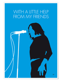 Premium poster Joe Cocker - With A Little Help From My Friends