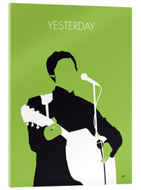 Acrylic glass  MY PAUL MCCARTNEY Minimal Music poster - chungkong