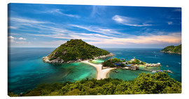 Canvas  Koh tao, Thailand panoramic - Vincent Xeridat