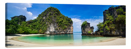 Canvas  thailand hong Iceland beach Panorama - Vincent Xeridat
