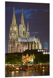 Foam board print  cathedral of cologne - Dieterich Fotografie