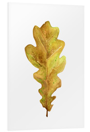 Foam board print  Oak Leaf - RNDMS