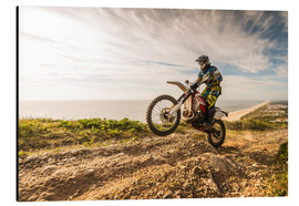 Aluminium print  Coast trip with the Enduro
