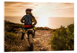 Acrylic print  My Enduro and I