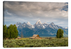Canvas print  Grand Teton - Denis Feiner