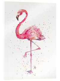 Acrylic print  A Flamingos Fancy - Sillier Than Sally
