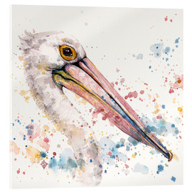 Acrylic print  Pelicans About - Sillier Than Sally