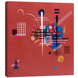 Canvas print  Dull Red - Wassily Kandinsky