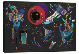 Canvas print  around the circle - Wassily Kandinsky