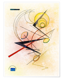 Premium poster  Small hot - Wassily Kandinsky