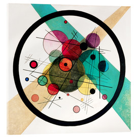 Acrylic glass  Circles in a circle - Wassily Kandinsky
