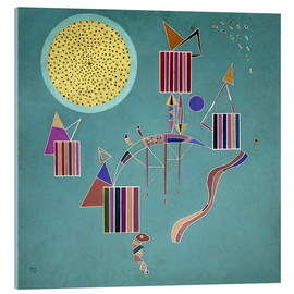 Acrylic print  Intime Message - Wassily Kandinsky