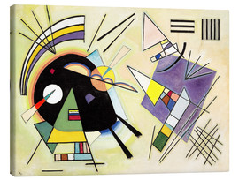 Canvas print  Black and purple - Wassily Kandinsky