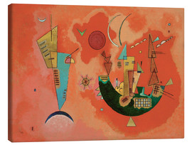 Canvas print  With and against - Wassily Kandinsky