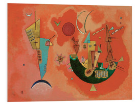 Foam board print  With and against - Wassily Kandinsky
