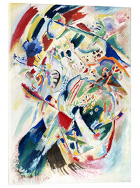 Acrylic print  Panel for Edwin R  Campbell No  4 - Wassily Kandinsky