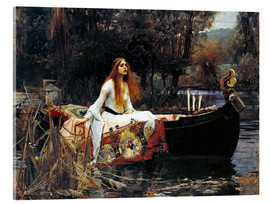 Acrylic print  The Lady of Shalott - John William Waterhouse