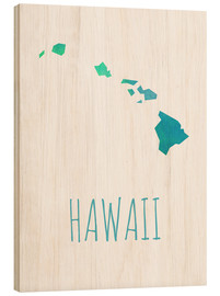 Wood print  Hawaii - Stephanie Wittenburg