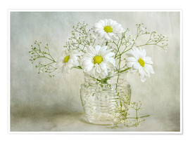 Premium poster Still life with Chrysanthemums