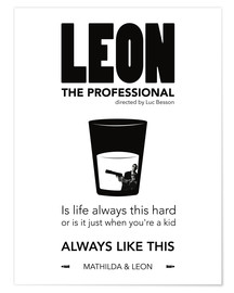 Premium poster  Leon the Professional - dear dear