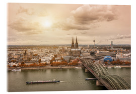 Acrylic print  Cologne Autumn View - rclassen