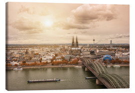 Canvas print  Cologne Autumn View - rclassen