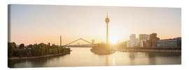 Canvas print  Sunrise in Dusseldorf - rclassen
