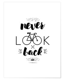 Premium poster Never Look Back