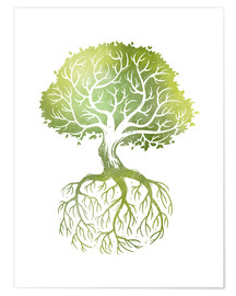 Premium poster  Roots - Stephanie Wittenburg