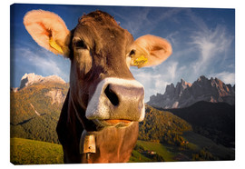 Canvas  Mountain Moo(d) - Carsten Meyerdierks
