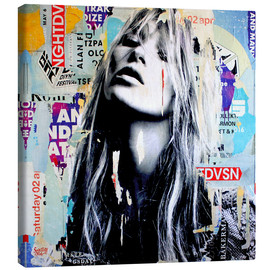 Canvas print  It's a sin to be tired - Michiel Folkers