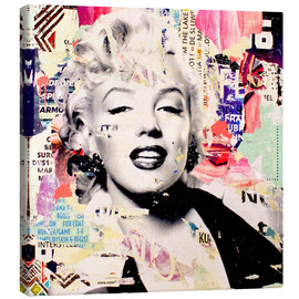 Canvas  Marilyn Monroe - Michiel Folkers